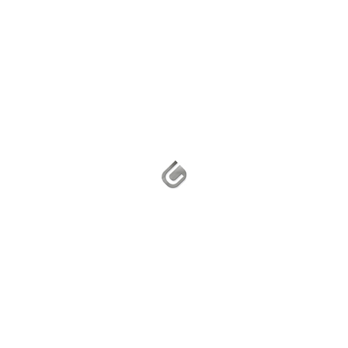 Toallero zig-zag metálico lacado blanco